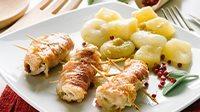 Involtini di pollo con prosciutto crudo-4