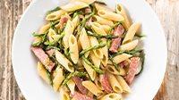 Penne prosciutto cotto e asparagi-3