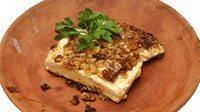 Tartine pancetta melanzane noci e miele-1