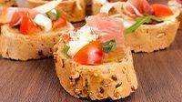 Tartine prosciutto crudo e pomodorini_16_9