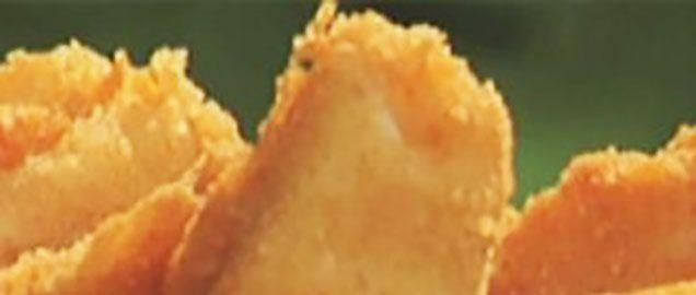 Crostino fritto con besciamella e Galbacotto