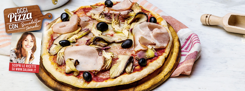 Pizza capricciosa